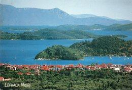 GRECIA-LEFKADA NIDRI- VIAGGIATA     FG - Grecia