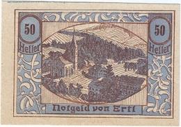 Austria (NOTGELD) 50 Heller Ertl 30-12-1920 Kon 185 D.30 UNC - Austria