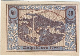 Austria (NOTGELD) 50 Heller Ertl 30-12-1920 Kon 185 D.30 UNC Ref 3538-1 - Austria