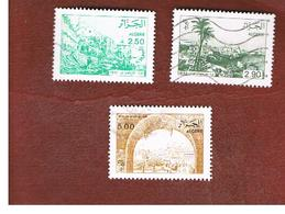 ALGERIA - SG 999.1001 -  1989 VIEWS OF ALGERIA BEFORE 1930 : COMPLET SET OF 3  - USED ° - Algérie (1962-...)