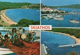 GRECIA-SKIATHOS- VIAGGIATA     FG - Grecia