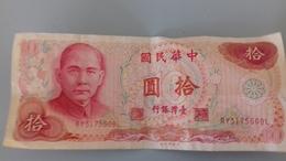 BILLET DE 10 YUAN - Taiwan