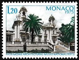 Timbre-Poste Gommé Neuf** - Année Européenne Du Patrimoine Architectural - N° 1016 (Yvert) - Principauté De Monaco 1975 - Ungebraucht