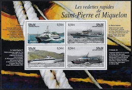 SAINT-PIERRE ET MIQUELON - BF 11 - NEUF** - Blocchi & Foglietti