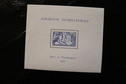 Saint Pierre And Miquelon 171 Colonial Arts Exhibition Souvenir Sheet Block 1937, MNH A04s - Blocks & Sheetlets