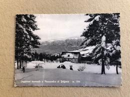 SOGGIORNO INVERNALE A MAZZASELVA DI FOLGARIA  1961 - Trento