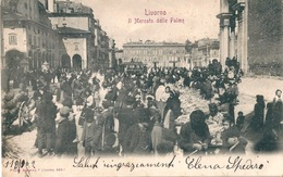 ITALIE ITALIA LIVORNO Le Marché Il Mercato - Livorno