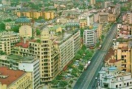 BUCURESTI-1974- VIAGGIATA     FG - Romania