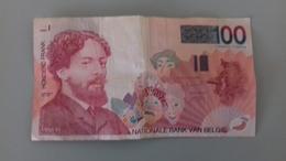 BILLET DE 100 FRANCS BELGES - [ 2] 1831-... : Regno Del Belgio