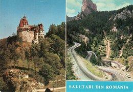 SALUTARI DIN ROMANIA- VIAGGIATA 1977   FG - Romania