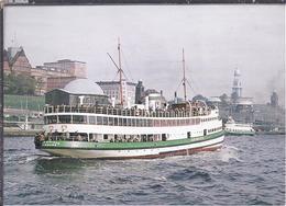 AK-49999-128 -  MS Jan Molsen - Landungsbrücken Hamburg 1958 - Schiffe
