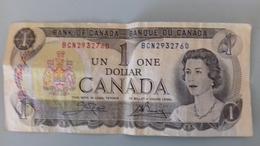 BILLET DE 1 DOLLAR CANADIEN - Kanada