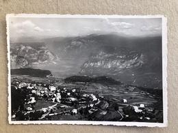 FAI DELLA PAGANELLA PANORAMA VERSO LA VAL D'ADIGE   1954 - Trento