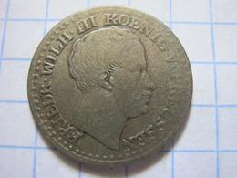 Prussia 1 Silbergroschen 1833 (A) - [ 1] …-1871 : Estados Alemanes