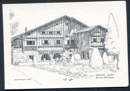 ARNAGA - CXAMPO . Illustration Dessin G. WATTERSON -. Carte Double - Cambo-les-Bains