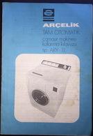 Turkey Arcelik Washing Machine Manuel - Ciencia & Tecnología