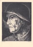 FRONTSOLDAT Des Inf.Regt. 20, Regensburg, Künstlerkarte - Weltkrieg 1939-45