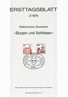 Germany - Mi-Nr 995 + 998 ETB (c570) - Schlösser U. Burgen