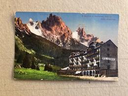 S. MARTINO DI CASTROZZA HOTEL ALPENROSE 1923 - Trento