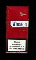 Tabacco Pacchetto Di Sigarette Italia - Winston Classic Da 10 Pezzi - Tobacco-Tabac-Tabak-Tabaco - Empty Cigar Cabinet