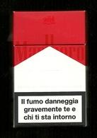 Tabacco Pacchetto Di Sigarette Italia - Malboro 2014 Da 20 Pezzi N.2 - Tobacco-Tabac-Tabak-Tabaco - Empty Cigar Cabinet