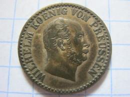 Prussia 1 Silbergroschen 1868 (B) - Piccole Monete & Altre Suddivisioni