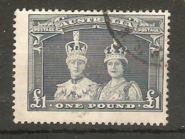 AUSTRALIA 1938 £1 SG 178 FINE USED Cat £35 - Used Stamps