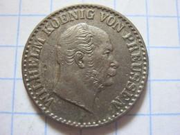 Prussia 1 Silbergroschen 1870 (C) - Piccole Monete & Altre Suddivisioni