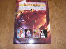 BELGIUM BY BEER BEER BY BELGIUM Brasserie Bières Belgique Brasseur Brouwerij Bière Trappiste Abbaye Gueuze Faro Pils - Books, Magazines, Comics