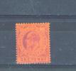 GIBRALTAR  -  1903  Edward VII  1d  MM - Gibraltar