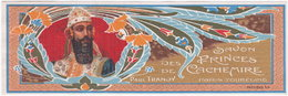 Chromo étiquette Savon Des Princes De Cachemire N° 150 Bis. Paul Tranoy - Chromos