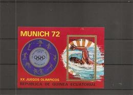Guinée équatoriale - JO De Munich -1972 -Natation ( BF 17 XXX -MNH) - Guinea Ecuatorial