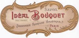 Chromo étiquette Savon Idéal Bouquet N° 830. Paul Tranoy - Chromos