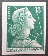 R1591/383 - 1955 - TYPE MARIANNE DE MULLER - N°1011Ab NEUF** ND - France