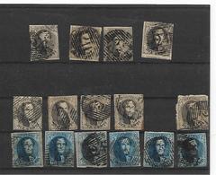 België Medaillons  Assortiment - 1851-1857 Medallions (6/8)
