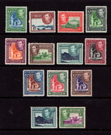 ST  VINCENT    1938    George  VI    Short  Set  Of  13    MH - St.Vincent (...-1979)