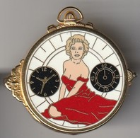 Pin's Marylin Monroe Ballard Pour Marc Ways N°588 - Unclassified