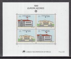 CP 2 ) Free Shipping To // 1990 Portugal Azores Block 11 ** / MNH - Europe Cept: Postal Facilities - Europa-CEPT