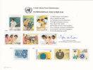 UNO NEW YORK, Erinnerungskarte EK 33, International Volunteer Day, 1988 - New York -  VN Hauptquartier