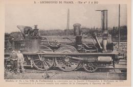 57 - FAULQUEMONT - LOCOMOTIVE LA VILLE DE FAULQUEMONT - Faulquemont