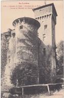 F48-036 GORGES DU TARN - CHÂTEAU DE LA CAZE - TOURS ET ENTRÉE DU CHÂTEAU - Gorges Du Tarn