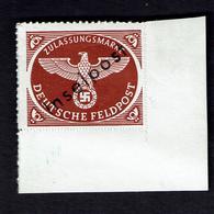 1944 Inselpost  STAMP MINT *** TESTED Michel # 6 LOW START BID - Occupation 1938-45