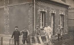 SERIFONTAINE  -  60  -  Ouvriers Maçons  - ( Carte Photo ) - Autres Communes
