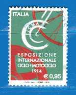 Italia °- 2016 - EICMA - Esposizione Internazionale Del Ciclo E Motociclo. Unif. 3694. Usato - 6. 1946-.. Repubblica