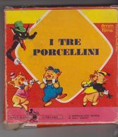 "Walt Disney Film Super 8 Mm Film Office "" I Tre Porcellini - Pellicole Cinematografiche: 35mm-16mm-9,5+8+S8mm"
