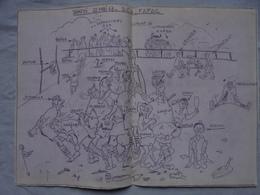 Photocopie Dessin Humoristique Match De Rugby Samedi 20 Mai 1967 - D.C.A. FAFAC - Art Populaire