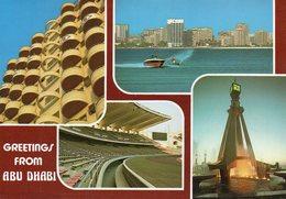 Greetings From Abu Dhabi - Views / Multivues - Emirati Arabi Uniti