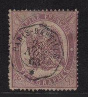 Telegraphe - N°8 (aminci) - Paris Bastille - 24 Nov 1868 - France