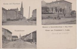 57 -  FRANCALTROFF - 3 VUES - BOULANGERIE - EGLISE ET RUE - Other Municipalities
