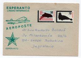 1985 NETHERLANDS TO YUGOSLAVIA, ESPERANTO, AIR MAIL - Other